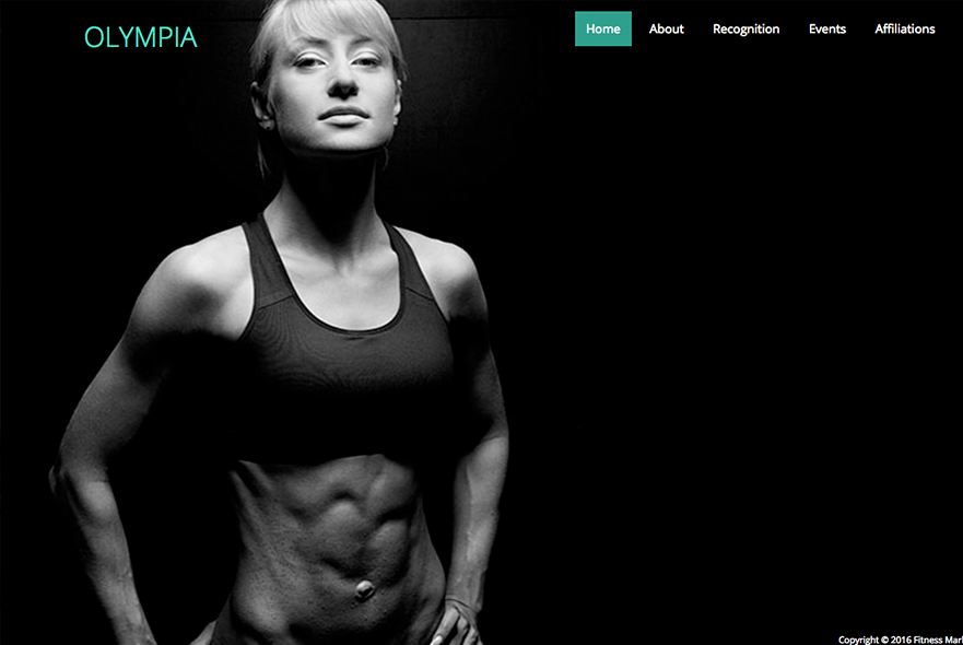 Website design for Personal Trainers